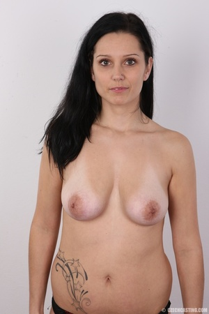 Sexy black haired chick with big boobs,  - XXX Dessert - Picture 11