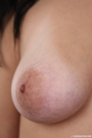 Sexy black haired chick with big boobs,  - XXX Dessert - Picture 12