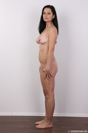 Sexy black haired chick with big boobs,  - XXX Dessert - Picture 15