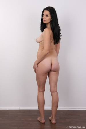 Sexy black haired chick with big boobs,  - XXX Dessert - Picture 17