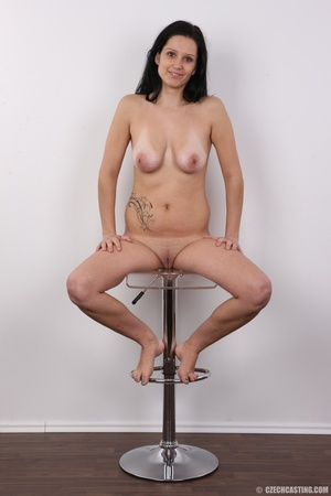 Sexy black haired chick with big boobs,  - XXX Dessert - Picture 19
