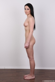 sexy black hair damsel