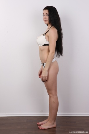 Sexy long black haired chick with big er - XXX Dessert - Picture 8