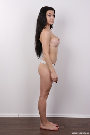 Sexy long black haired chick with big er - XXX Dessert - Picture 10