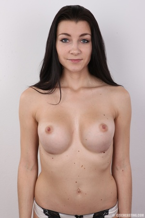Sexy long black haired chick with big er - XXX Dessert - Picture 11