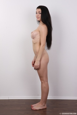Sexy long black haired chick with big er - XXX Dessert - Picture 15