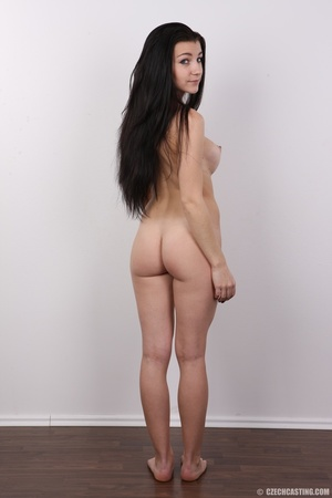 Sexy long black haired chick with big er - XXX Dessert - Picture 18
