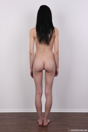 Smiling slim chick with soft sexy small  - XXX Dessert - Picture 16