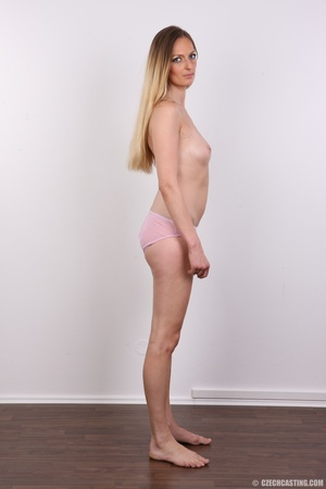 Blue eyes tall seductive blonde with sma - XXX Dessert - Picture 8