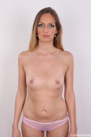 Blue eyes tall seductive blonde with sma - XXX Dessert - Picture 11