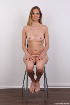 Blue eyes tall seductive blonde with sma - XXX Dessert - Picture 18
