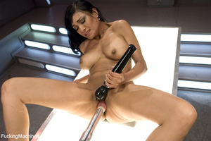 Sexy brunette gets her horny pussy fucke - XXX Dessert - Picture 13