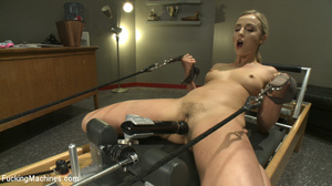 Naughty slutty blonde gets her hot pussy - XXX Dessert - Picture 2