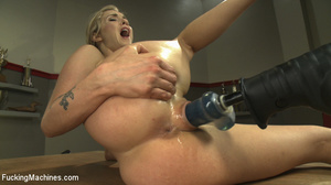 Naughty slutty blonde gets her hot pussy - XXX Dessert - Picture 8