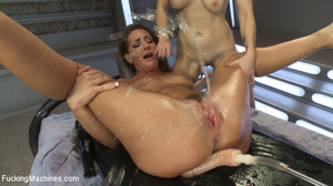 Two horny chicks moan and lick cunt, fis - XXX Dessert - Picture 9