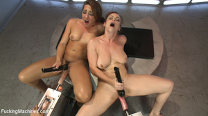 Two horny chicks moan and lick cunt, fis - XXX Dessert - Picture 12