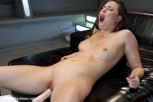 Hot Barbie brunette screams out loud as  - XXX Dessert - Picture 9