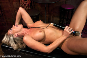Sexy blonde squirts and orgasms loudly a - XXX Dessert - Picture 3