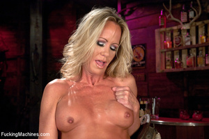 Sexy blonde squirts and orgasms loudly a - XXX Dessert - Picture 6