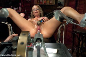 Sexy blonde squirts and orgasms loudly a - XXX Dessert - Picture 7