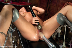 Sexy blonde squirts and orgasms loudly a - XXX Dessert - Picture 8