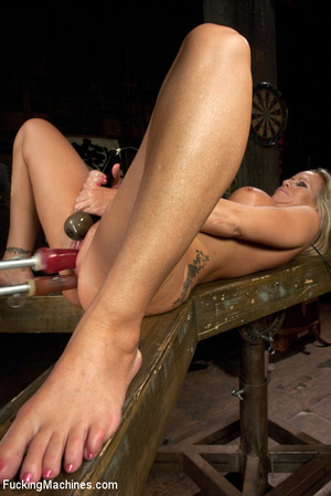 Sexy blonde squirts and orgasms loudly a - XXX Dessert - Picture 12