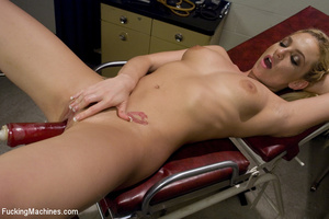 Sweet automated fucking as blonde gets f - XXX Dessert - Picture 15