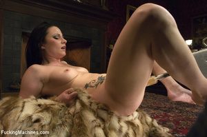 Horny babe gets her pussy drilled hard b - XXX Dessert - Picture 3