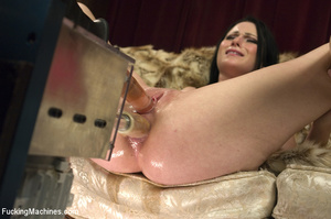 Horny babe gets her pussy drilled hard b - XXX Dessert - Picture 6