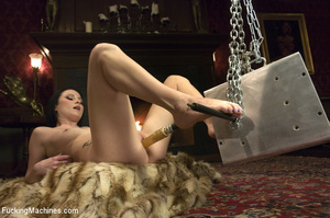 Horny babe gets her pussy drilled hard b - XXX Dessert - Picture 7