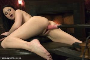 Horny babe gets her pussy drilled hard b - XXX Dessert - Picture 10