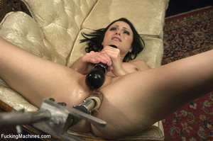 Horny babe gets her pussy drilled hard b - XXX Dessert - Picture 12