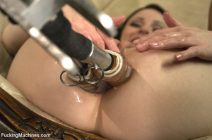Horny babe gets her pussy drilled hard b - XXX Dessert - Picture 13