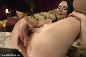 Horny babe gets her pussy drilled hard b - XXX Dessert - Picture 15