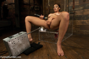 Sexy shaped babe with sweet tits fucks c - XXX Dessert - Picture 9