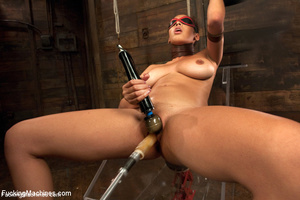 Sexy shaped babe with sweet tits fucks c - XXX Dessert - Picture 10