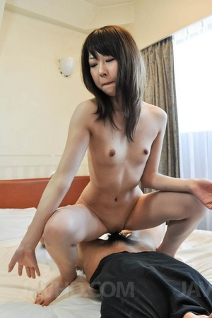 Small-titted Asian girl enjoys pussy fon - XXX Dessert - Picture 15