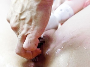 Ponytailed Japanese looker squirting whi - XXX Dessert - Picture 14