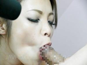 Slutty Asian babe in a fishnet catsuit g - XXX Dessert - Picture 6