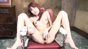 Red Asian teeny gets high when fingering - XXX Dessert - Picture 13