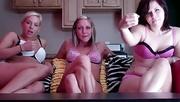 three stunning chicks demand