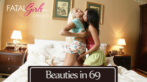Two young blonde and brunette nymphos lo - XXX Dessert - Picture 5