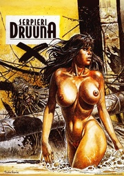 brunette beauty druuna riding
