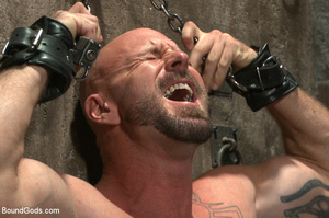 Hard man tied up, whipped, pinched and t - XXX Dessert - Picture 1