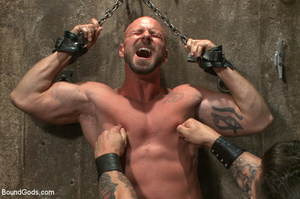Hard man tied up, whipped, pinched and t - XXX Dessert - Picture 3