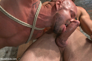 Hard man tied up, whipped, pinched and t - XXX Dessert - Picture 4