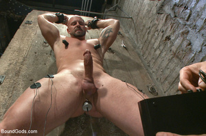 Hard man tied up, whipped, pinched and t - XXX Dessert - Picture 6
