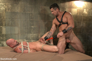 Hard man tied up, whipped, pinched and t - XXX Dessert - Picture 10