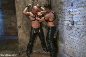 Hard man tied up, whipped, pinched and t - XXX Dessert - Picture 11