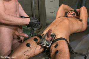 Police dominates prisoner whipping him a - XXX Dessert - Picture 11
